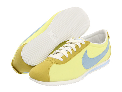 Adidasi Nike - Lady Cortez Nylon - Yellow Diamond/Sail/Celery/Ice Blue