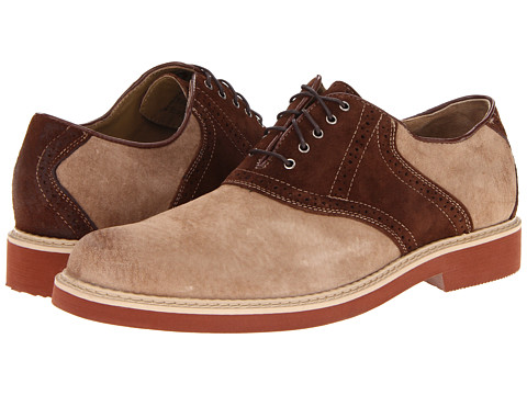 Pantofi Hush Puppies - Authentic - Classic Taupe/Brown Suede