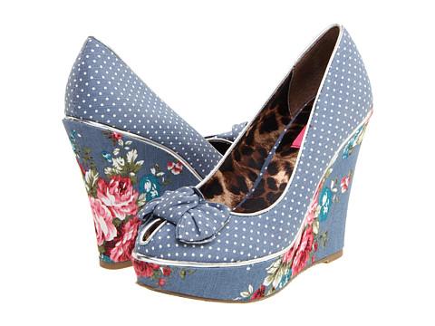 Pantofi Betsey Johnson - Missie - Blue Multi