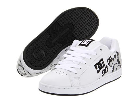 Adidasi DC - Pixie I Heart DC W - White/Black/Metallic Silver