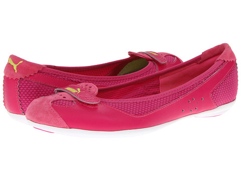 Balerini PUMA - Zandy Mesh Wn\s - Fluo Pink/Cabaret/Sharp Green