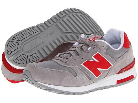 Adidasi New Balance - ML565 - Grey/Red
