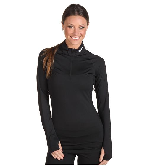 Bluze Nike - Pro Core Compression Shirt - Black/White