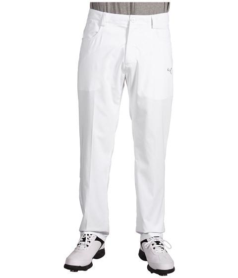Pantaloni PUMA - Golf Solid 5 Pocket Tech Pants - White