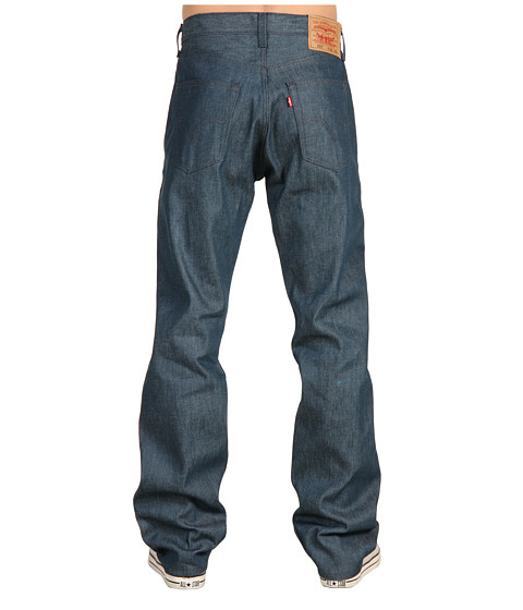 Blugi Levis - 501Ã'® Original Shrink-to-Fit Jeans - Blue Green Shrink To Fit