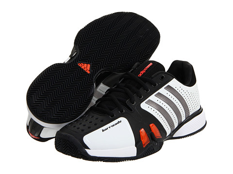Adidasi adidas - adiPowerâ⢠Barricade - Clay - Running White/Iron/Black/High Energy