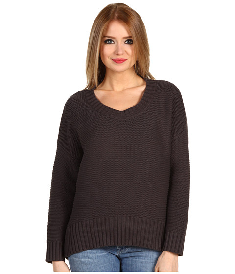 Bluze BCBGeneration - Marbled Slouchy Cable Sweater - After Dark