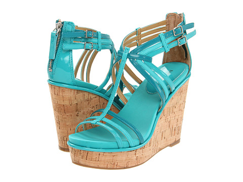 Sandale Nine West - Romancing - Turquoise Synthetic