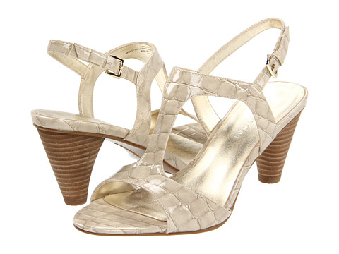 Sandale Anne Klein - Racy - Taupe Croco Patent