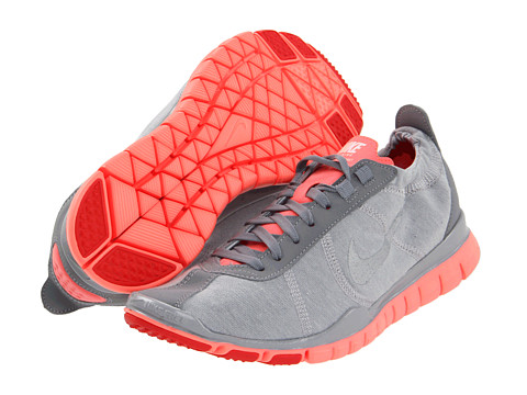 Adidasi Nike - Free TR Twist - Wolf Grey/Bright Mango/Grey/Metallic Silver