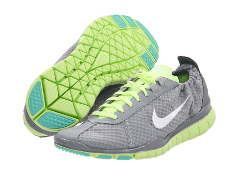 Adidasi Nike - Free TR Twist - Wolf Grey/Tropical Twist/Liquid Lime/White