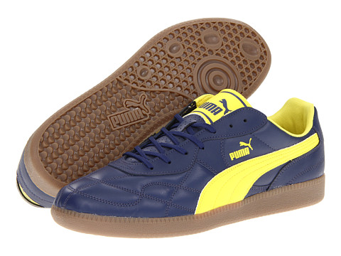 Adidasi PUMA - Esito Classic Sala - Navy/Yellow/Gum