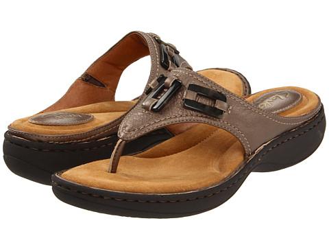 Sandale Clarks - Lindenwood Divi - Mushroom Metallic Leather