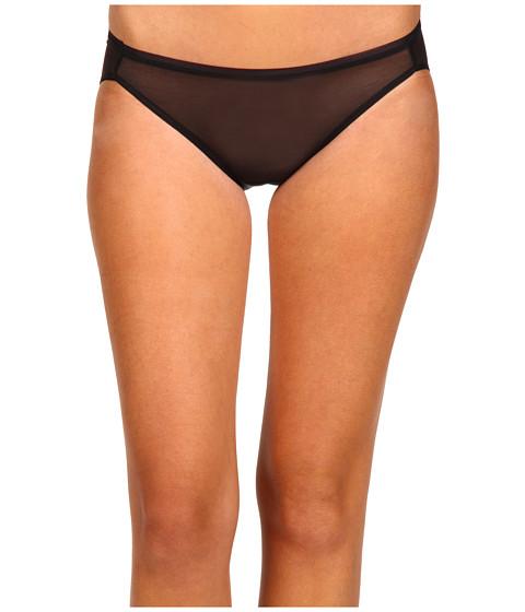 Lenjerie Donna Karan - DK Essentials Shimmer Chiffon Bikini - Black