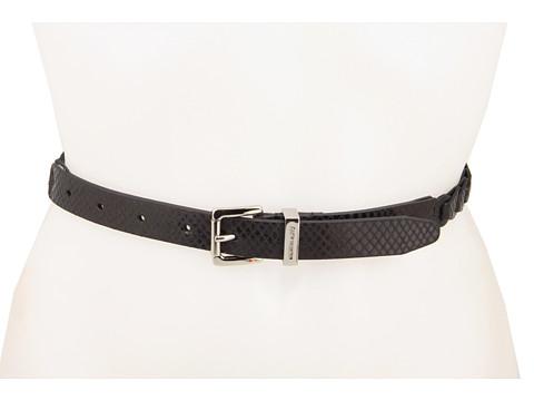 Curele Michael Kors - MK Braid Link Belt - Black