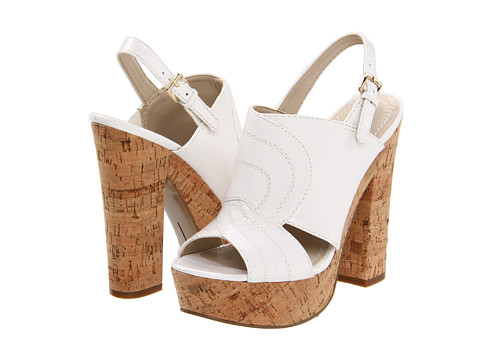 Sandale Nine West - Actout - White Synthetic