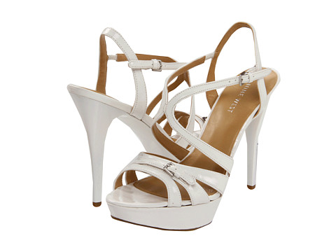 Sandale Nine West - Bitten - White Synthetic