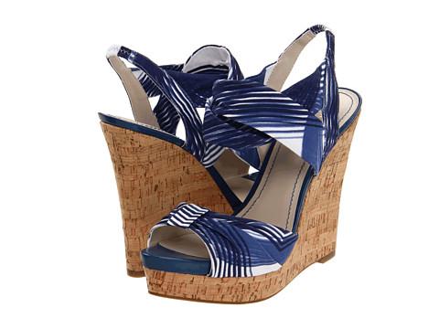 Sandale Nine West - LittleMiss - Blue/White Fabric