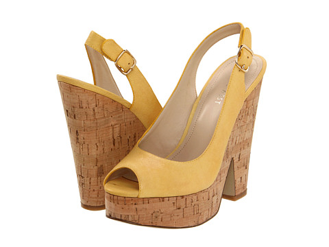 Sandale Nine West - Trippy - Yellow Leather
