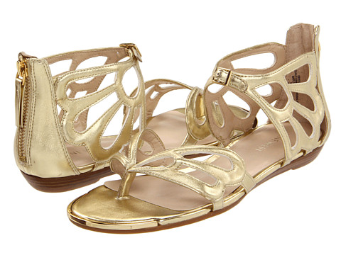 Sandale Nine West - WalkHard - Gold Synthetic