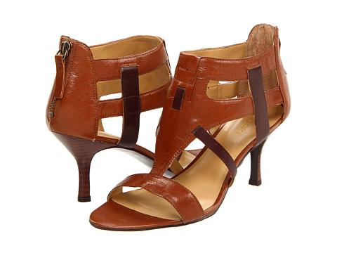 Sandale Nine West - Whirly - Dark Brown/Dark Brown Leather