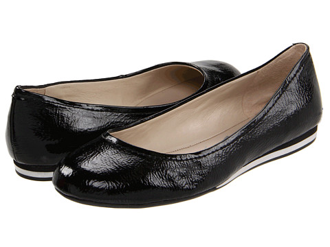 Balerini Nine West - Cyndi - Black Synthetic