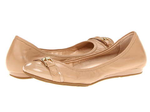 Balerini Cole Haan - Air Reesa Buckle Ballet - Sandstone/Sandstone Patent