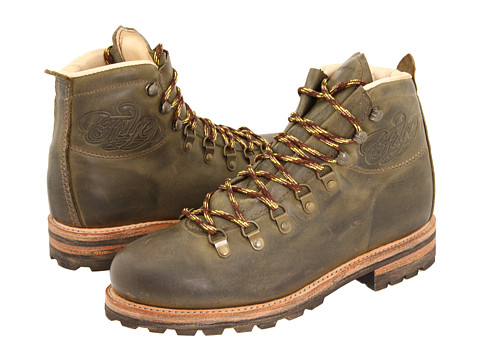 Ghete Frye - Cobb Hiker - Olive Antique