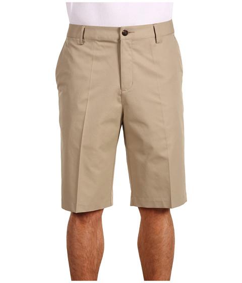 Pantaloni adidas Golf - ClimaLite 3-Stripe Short - Khaki
