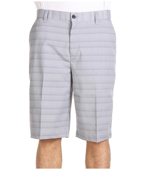 Pantaloni adidas Golf - ClimaLiteÃ'® Micro Plaid Short - Coyote/Black/White