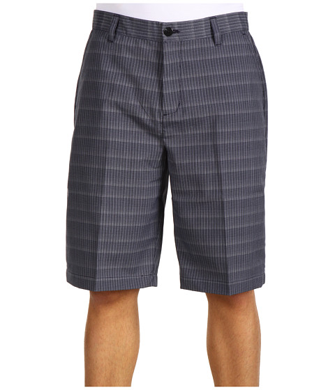 Pantaloni adidas - ClimaLite® Micro Plaid Short - Navy/Khaki/White