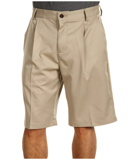 Pantaloni adidas Golf - Tech Pleated Short - Khaki