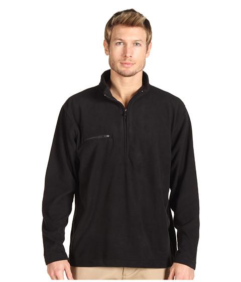 Bluze Fitzwell - Jamison 1/4 Zip Microfiber Pullover - Black