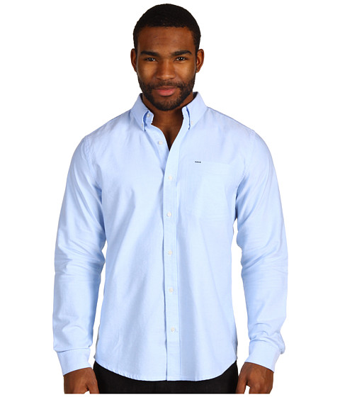 Bluze Hurley - Ace Oxford L/S Woven Shirt - Blue Oxford