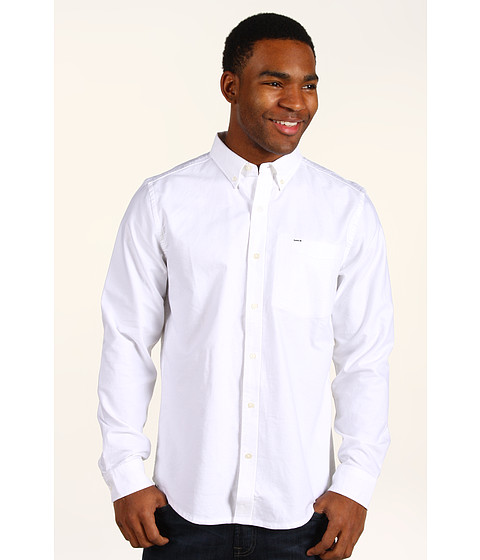 Bluze Hurley - Ace Oxford L/S Woven Shirt - White