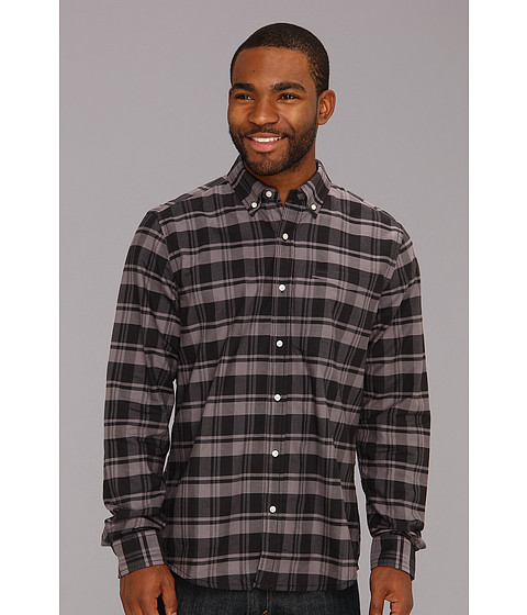 Camasi Hurley - Ace Oxford L/S Woven Shirt - Black/Grape