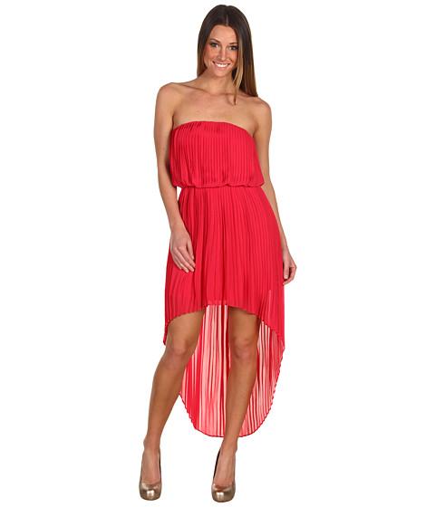 Rochii BCBGeneration - Pleat High Low Dress - Lollipop