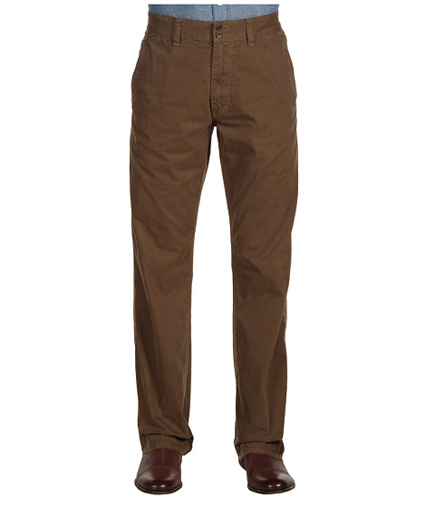 Pantaloni John Varvatos - Flat Front Flap Pockets - Escargot