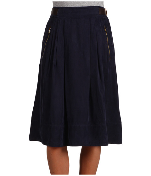 Fuste Ted Baker - Zebee Knee Length Skirt - Navy