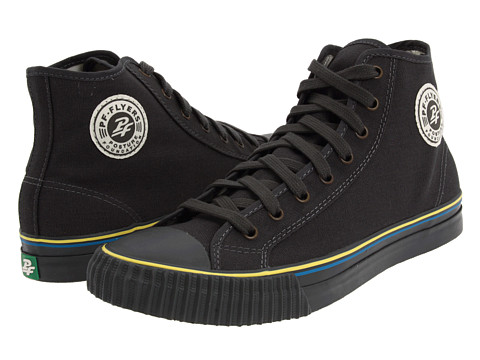 Adidasi PF Flyers - Center Hi - Tailored - Dark Grey Canvas