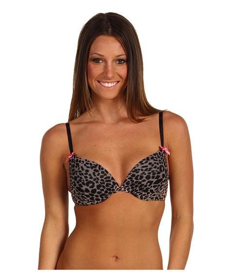 Lenjerie Betsey Johnson - Mesh Bump M\Up Bra 723236 - Skinny Dip/Layla Leopard