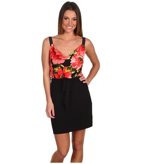 Rochii Gabriella Rocha - Trixie Floral Dress - Black/Red