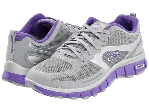 Adidasi SKECHERS - Flex Groove - Gray/Purple