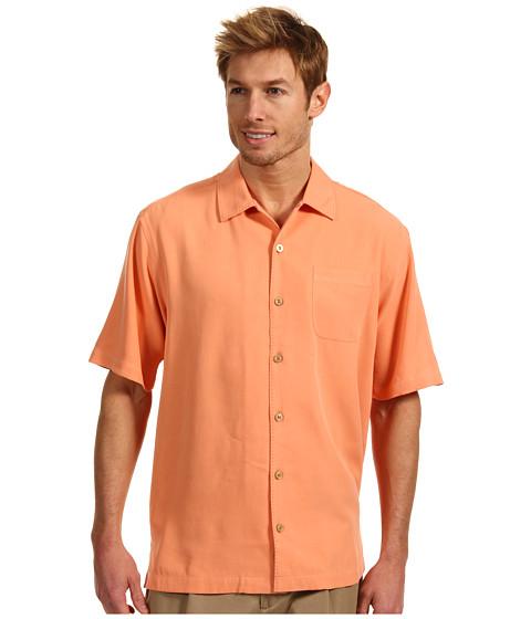 Camasi Tommy Bahama - Catalina Twill Camp Shirt - Peach Sorbet