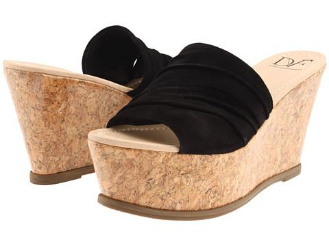 Sandale Diane Von Furstenberg - Palm - Black Suede
