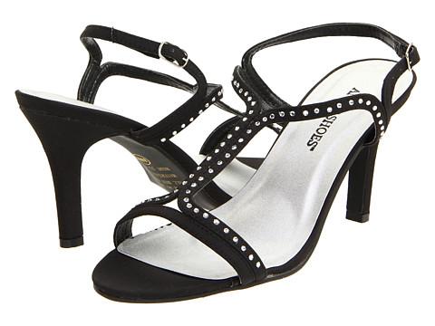 Pantofi Annie - Adrien - Black Micro