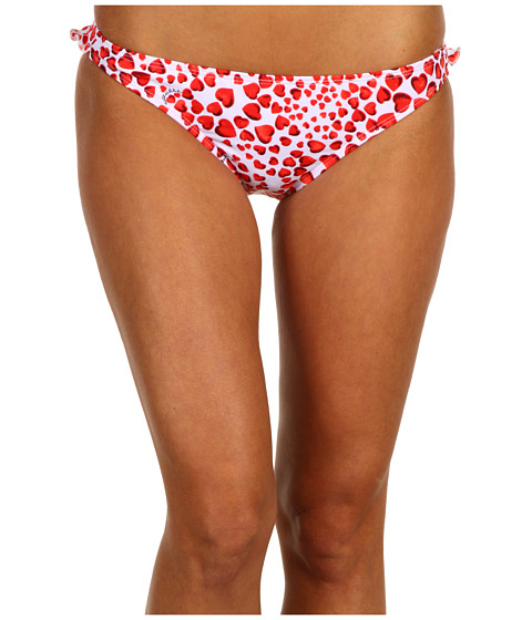 Costume de baie GUESS - Heart Throb Retro Pant - Poppy