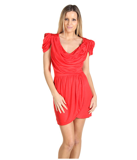 Rochii French Connection - Delicious Drape Dress - Tractor Red