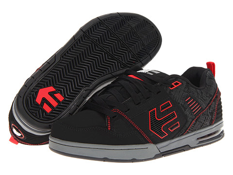Adidasi etnies - Kontra x Metal Mulisha - Black/Grey/Red