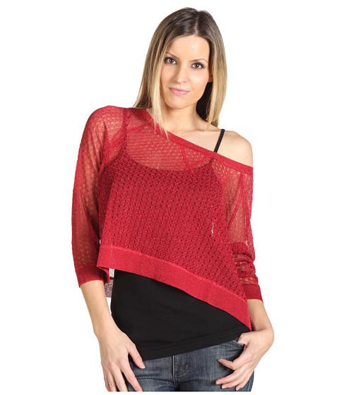 Bluze Betsey Johnson - Sweater Sweatshirt - Red